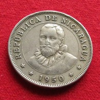 Nicaragua 50 Centavos 1950 KM# 19.1 - Nicaragua