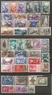 ITALIA - 1951-59 41 Francobolli Diversi, Perfetti E Con Annulli Non Deturpanti - 6. 1946-.. Repubblica