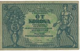 HUNGARY 5 Korona  P35   1919 - Hungary