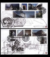 South Africa 2008 First Day Cover FDC Architecture Of The Constitutional Court Places Organizations Places Stamps - Other