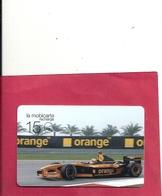 MOBI PU236 . F1 ORANGE ARROWS  -  . 05/02 - 04/04   . COTE 9 € - France