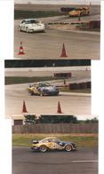 3 Photos Orginales - 1994- Voiture De Course, Rallye; Porsche (C.5577) - Automobili