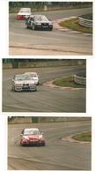 3 Photos Orginales ;1994-Honda-B.M.W.---Wolswagen, Voiture De Course  (C.5578) - Automobili