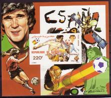 Soccer World Cup 1982 - DJIBOUTI - S/S Imperf. MNH** - Fußball-Weltmeisterschaft