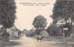 80-LOUVRECHY-SORTIE DU VILLAGE ,ROUTES DE MAILLY -THORY - SOURDON - France