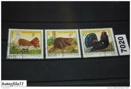 Österreich  1982  Mi. 1717 - 1719        Gestempelt / - Autres