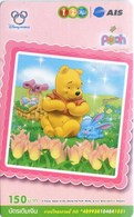 Mobilecard Thailand - 12Call/AIS  - Disney - Winnie The Pooh - Ostern - Hase (34) - Tailandia