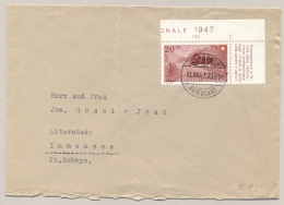 Schweiz - 1970 - 20c Pro Patria On Cover Sent From Bahnpost Ambulant To Immensee - Pro Patria