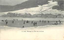 SUISSE PATINAGE AU PONT LAC DE JOUX - VD Vaud
