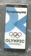 OLYMPIC CHANNEL  PYEONGCHANG  2018 .  International Olympic Committee (IOC) Pin - Medias