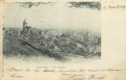 SAINT LOUP SUR SEMOUSE  CARTE PRECURSEUR TIMBREE EN 1899 - Autres Communes