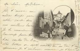 UNE RUE DE LIVERDUN  CARTE PRECURSEUR TIMBREE EN 1899 - Liverdun