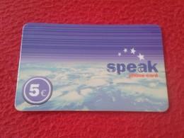 RARA RARE ANTIGUA TARJETA TELEFÓNICA PHONE CARD ESPAÑA SPAIN ESPAGNE ? SPEAK COMUNITEL 5 EUROS VER FOTO/S Y DESCRIPCIÓN - Espagne