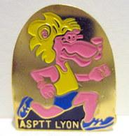 Pin's ASPTT Lyon - Mail Services