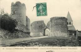 YEVRE LE CHATEL ANCIEN MANOIR D'AMAURY DE MONTFORT PORTE ENTREE - Autres Communes