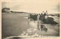 SAINT BREVIN L'OCEAN LA PLAGE A MAREE BASSE PECHE AUX CREVETTES - Saint-Brevin-l'Océan