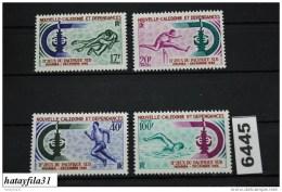 Neukaledonien    1966    Mi. 428 - 431  ** Postfrisch   /   2. Südpazifikspiele  , Neumea - Neufs