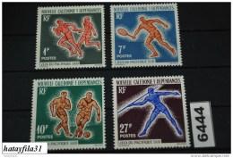 Neukaledonien    1964    Mi. 388 - 391   ** Postfrisch   /   1. Südpazifikspiele  Swa - Neufs