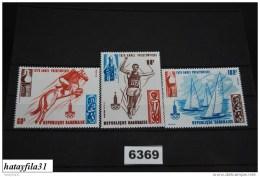 Gabun     1979   Mi. 696 - 698    ** Postfrisch  /   Vorolympisches Jahr - Gabun (1960-...)