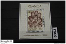 Ruanda   1979    Block  86  ** Postfrisch /   Internationales Jahr Des Kindes - Rwanda