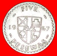 # CACAO: GHANA ★ 5 PESEWAS 1967! LOW START ★ NO RESERVE! - Ghana