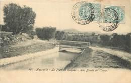 MARSEILLE LE PLAN DE CUQUES LES BORDS DU CANAL - Marseilles