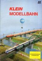 Catalogue KLEIN  MODELLBAHN 1988 Standardprogramm Schienenpläne - German