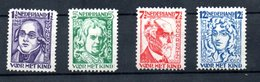 Pays Bas    /  Série N 215  218 / NEUFS Sans Gomme - Period 1891-1948 (Wilhelmina)