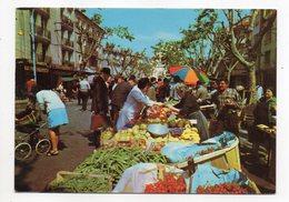 Marchés -- Charmes Et Soleil De La Côte D'Azur (très Animée) --1977--cachet NICE - 06 - Marchés