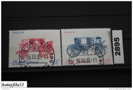 Vatikan   1985    Mi. 880 A - 881 A    Gestempelt - Vaticano