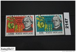 Vatikan   1984    Mi. 844 - 845    Gestempelt - Used Stamps