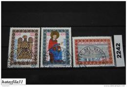 Vatikan   1985    Mi. 873 - 875    Gestempelt - Used Stamps