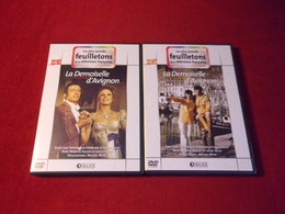 LES PLUS GRANDS FEUILLETONS DE LA TELEVISION FRANCAISE   °  LA DEMOISELLE D'AVIGNON  2 DVD - Séries Et Programmes TV