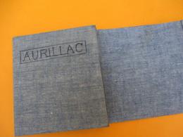 Carte Routière Entoilée/pliure Accordéon/Service Géographique De L'Armée/ Feuille N°58/AURILLAC/Cantal/Vers 1910  PGC182 - Cartes Routières