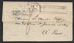 1837 LAC ( Incomplet ) Brésil A Paris, France - Brésil