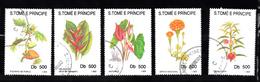 Sao Tome En Principe 1993 Mi Nr 1418 - 1422 Bloemen, Flower - Sao Tome En Principe