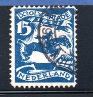 Pays Bas    /   N 205  / 15 C Bleu  / Oblitéré - Period 1891-1948 (Wilhelmina)