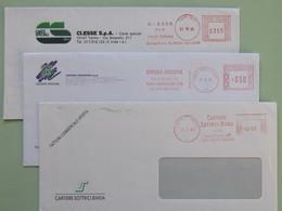 Case Editrici, Editoria, Carta, EMA, Cartiere C.ESSE., Subalpina, Sottrici Binda, Meter, Affrancatura Meccanica - Affrancature Meccaniche Rosse (EMA)