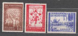 Yugoslavia Republic 1947 Mi#521-523 Mint Never Hinged - 1945-1992 Socialistische Federale Republiek Joegoslavië