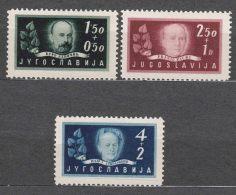 Yugoslavia Republic, 1948 Mi#545-547 Mint Never Hinged - 1945-1992 Socialistische Federale Republiek Joegoslavië