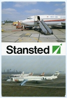 LONDON : STANSTED - DAN-AIR, SAS, STERLING - Aerodrome