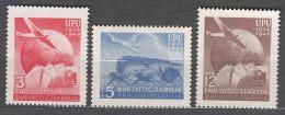 Yugoslavia Republic 1949 UPU Mi#578-580 Mint Never Hinged - 1945-1992 Socialistische Federale Republiek Joegoslavië