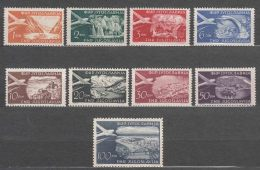 Yugoslavia Republic 1951 Airmail Mi#644-652 Mint Never Hinged - 1945-1992 Socialistische Federale Republiek Joegoslavië