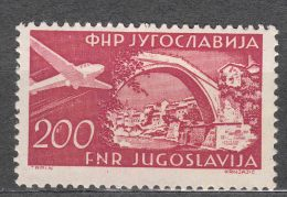 Yugoslavia Republic 1951 Airmail Mi#691 Mint Never Hinged - 1945-1992 Socialistische Federale Republiek Joegoslavië