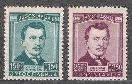 Yugoslavia Republic 1946 Mi#505-506 Mint Never Hinged - 1945-1992 Socialistische Federale Republiek Joegoslavië