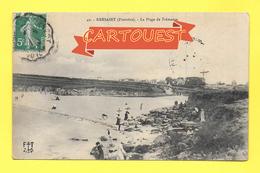CPA 29 - KERSAINT -- La Plage De Trémazan 1910 - Kersaint-Plabennec