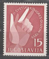 Yugoslavia Republic 1955 Mi#764 Mint Hinged - 1945-1992 Socialistische Federale Republiek Joegoslavië