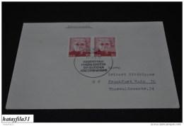 DDR 1975  Gelaufener FDC  Mi.2012 / Martha Arendsee ( T - 84  ) - FDC: Enveloppes