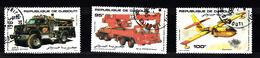 Djibouti 1984 Mi Nr  417 - 419 Brandweer, Fire Brigade, - Djibouti (1977-...)