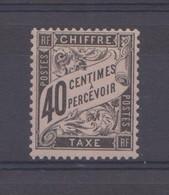 France Timbre Taxe N° 19 Neuf ** - Taxes